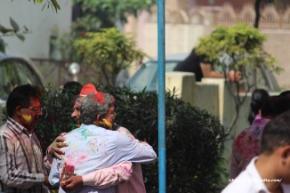 The eternal colorful hug